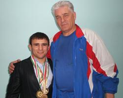 Назир Манкиев и Михаил Гамзин