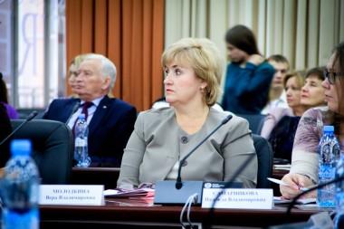 Вера Владимировна Молодкина, начальник планово-финансового управления СФУ