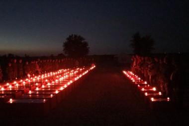 Последний строй-ритуал прощания с воинами,  погибшими под Сталинградом