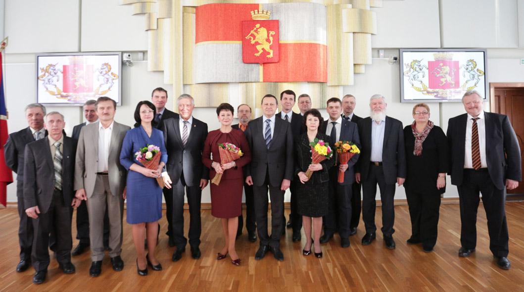 Лауреаты Профессорских премий главы города Красноярска за 2014 год