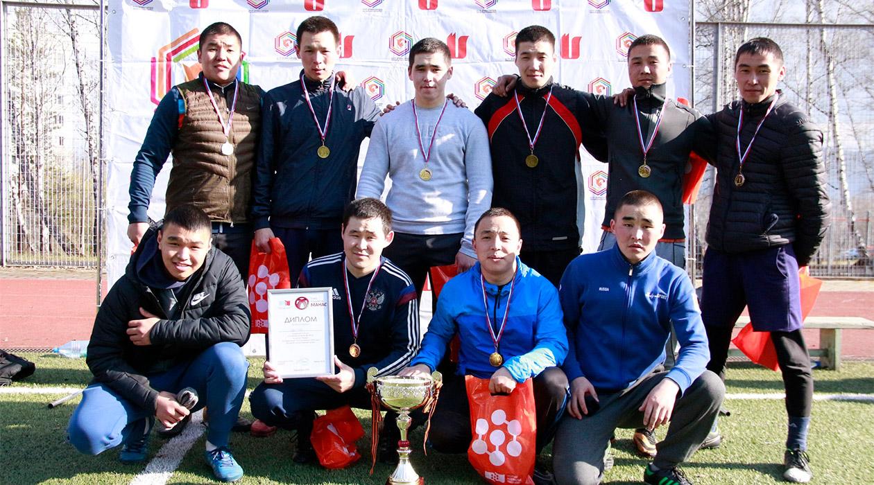 Победители турнира по мини-футболу
