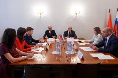Визит делегации Венгрии